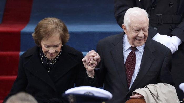 Rozalinn i Dzhimmi Karter - Джимми Картер - 39-й президент США