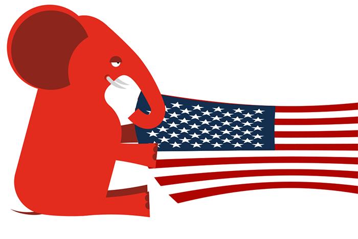Символ партии республиканцев