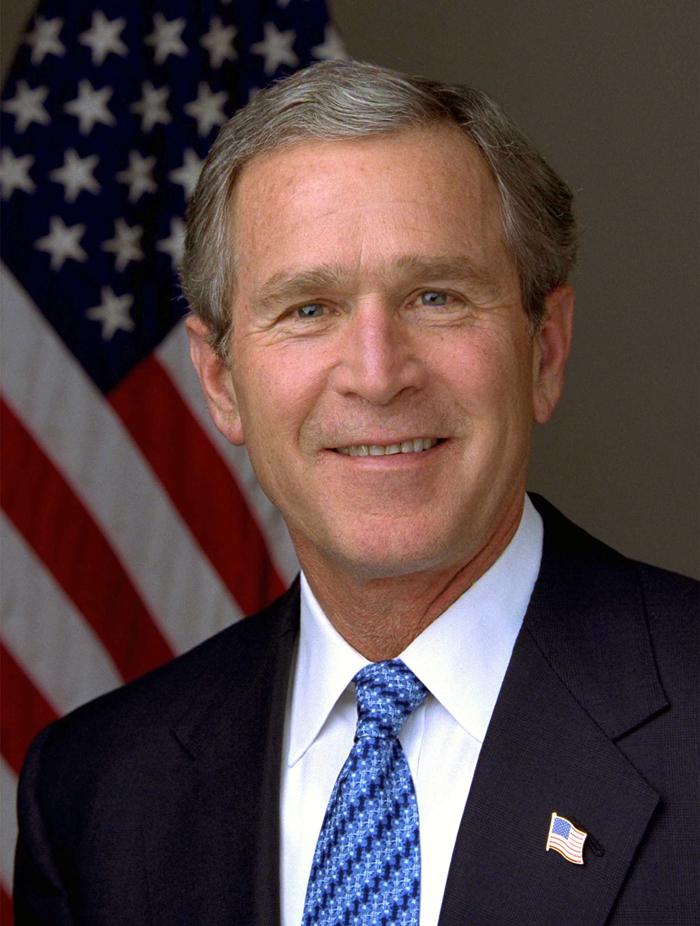 Dzhordzh Bush mladshij - Джордж Уокер Буш