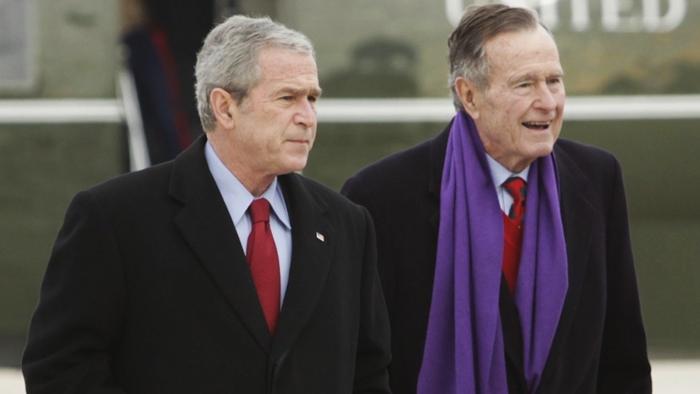 Dzhordzh Bush starshij i Dzhordzh Bush mladshij - Джордж Уокер Буш