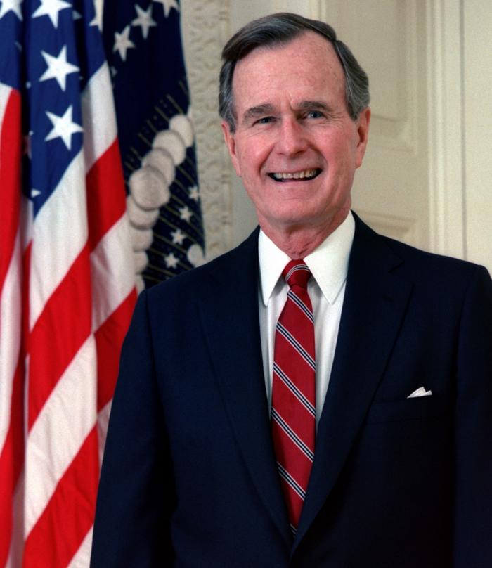 Dzhordzh Bush starshij - Джордж Уокер Буш