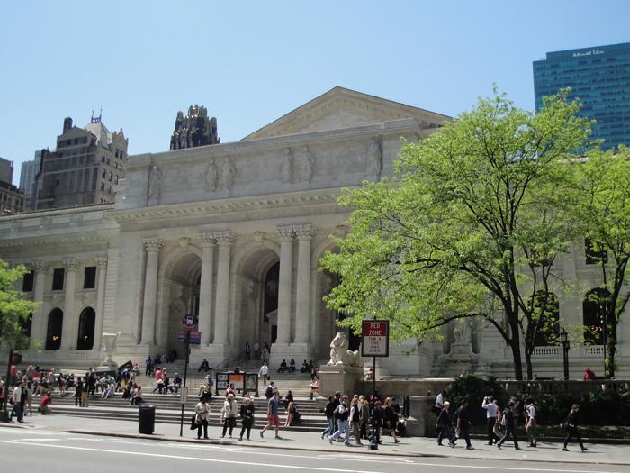 Nyu Jorkskaya publichnaya biblioteka - Достопримечательности Нью-Йорка