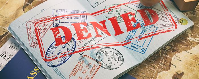 Otkaz v v predostavlenii vizy - Анкета на визу в США