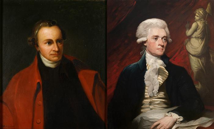 P. Genri i T. Dzhefferson - Первый президент США - Джордж Вашингтон