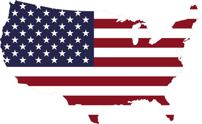Flag SSHA - Флаг Соединённых Штатов Америки