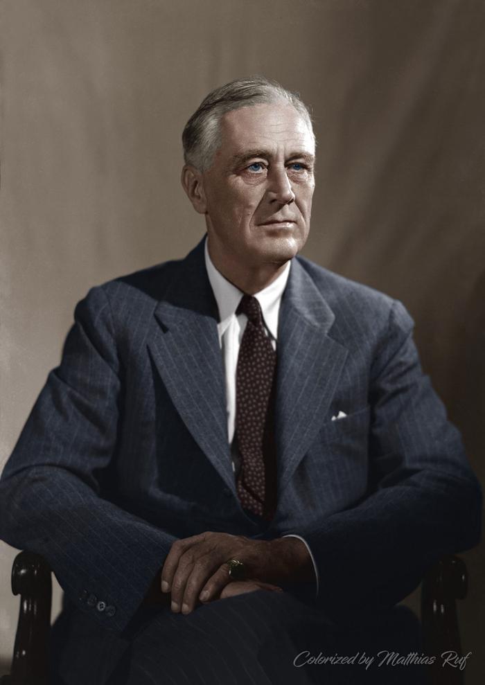 Franklin Delano Ruzvelt 1 - Краткая история возникновения США