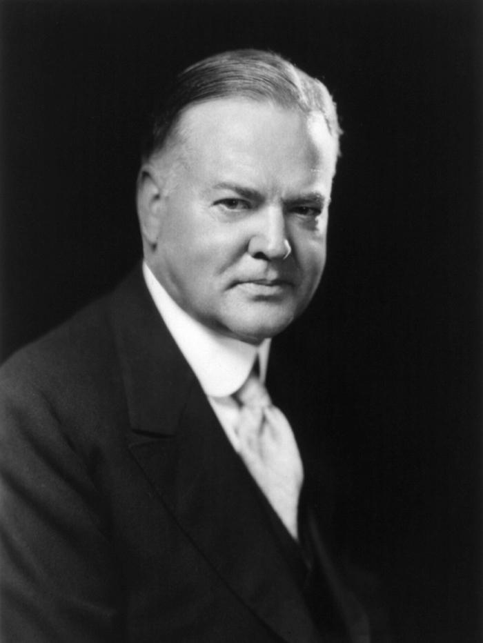 Gerbert Guver - Франклин Делано Рузвельт — 32-й президент США