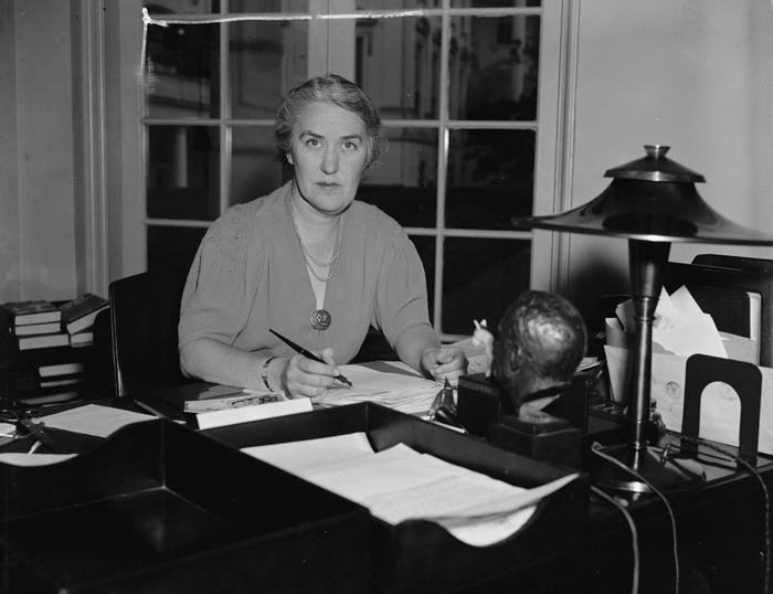 Margerit LeHand - Франклин Делано Рузвельт — 32-й президент США