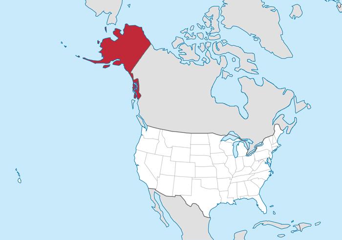 SHtat Alyaska - Штат Аляска и достопримечательности