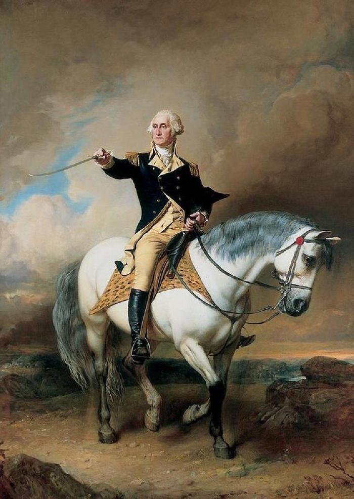 General Dzh.Vashington - Краткая история возникновения США