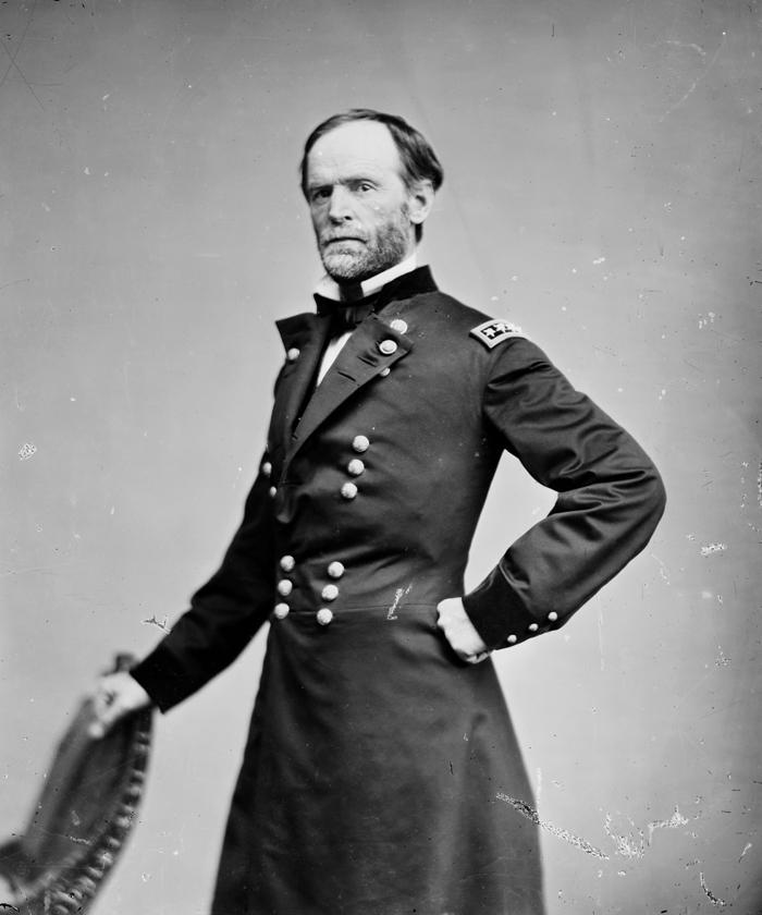 Генерал У.Т.Шерман