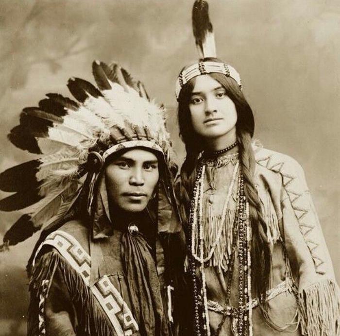 Indejtsy - Индейцы — коренное население Америки