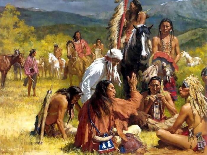 Iz glubin istorii - Индейцы — коренное население Америки