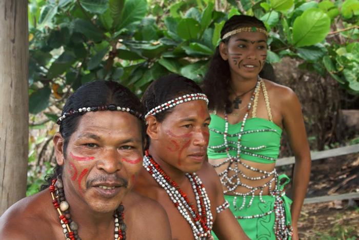 Karibskie plemena - Индейцы — коренное население Америки