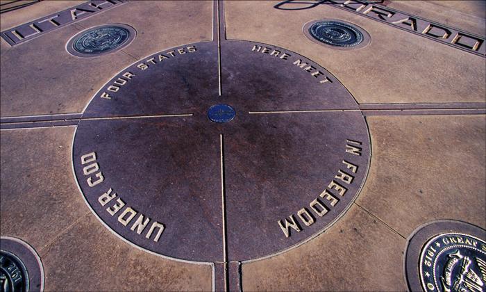 Monument chetyryoh uglov - Интересные факты о США