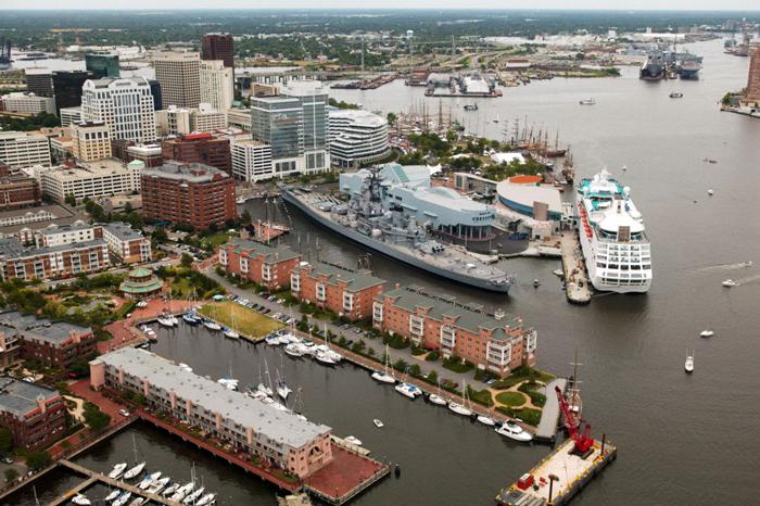 Port Norfolk - Города-порты Соединенных Штатов Америки