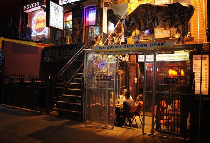 Шопинг и рестораны в Гринвич Виллидж