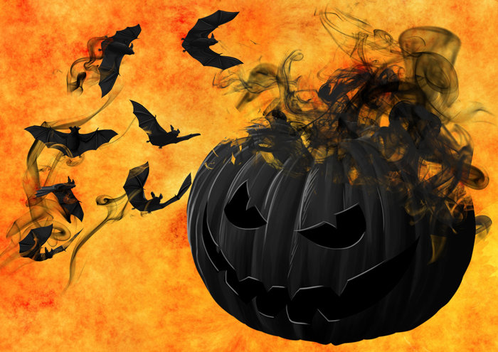 Simvoly Hellouina - Хэллоуин в Америке