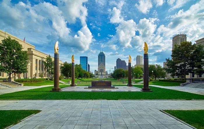 Stolitsa shtata Indiana Indianapolis - Столица штата Индиана - Индианаполис