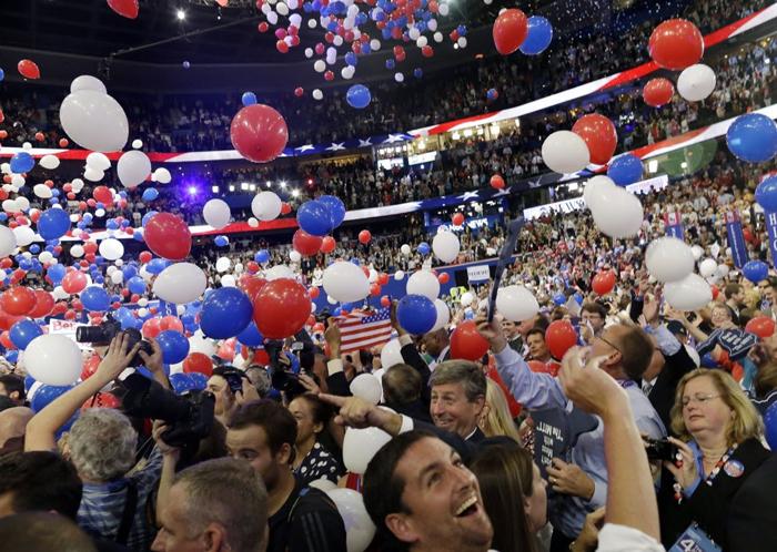 Torzhestvennyj sezd respublikantsev i demokratov - Избирательная система США