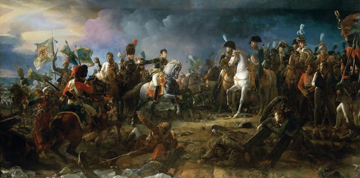 Vojny Napoleona - Краткая история возникновения США