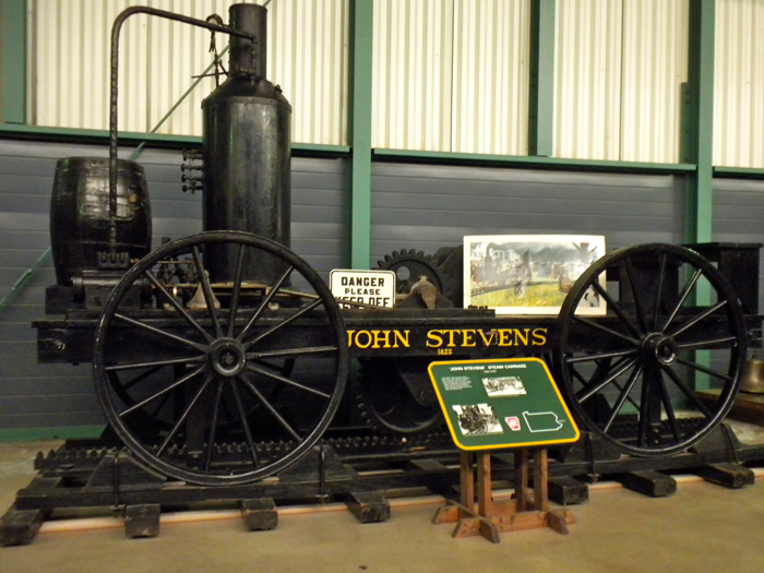 Dzhon Stivens Steam Wagon - Железные дороги США: история и описание
