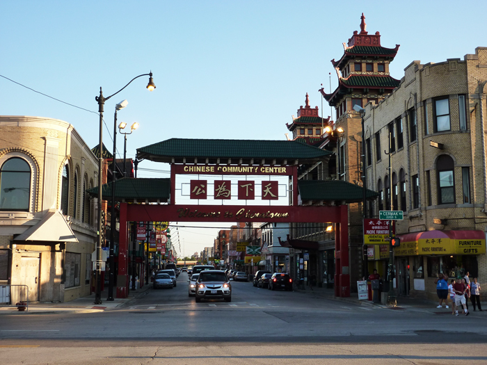 Kitajskij kvartal v Nyu Jorke - Китайский квартал в Нью-Йорке