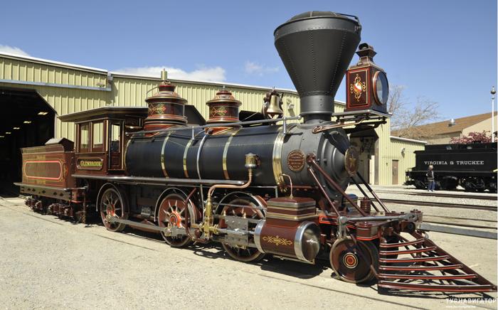 Muzej ZHeleznoj dorogi v Nevade - Железные дороги США: история и описание