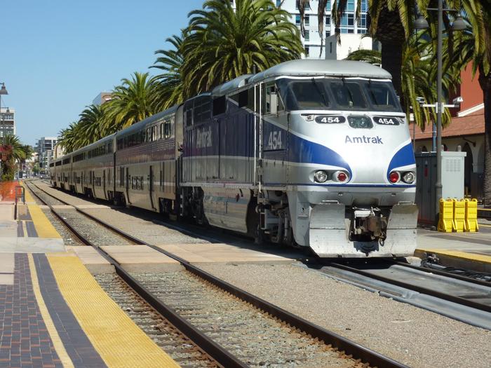 Poezd Amtrak - Железные дороги США: история и описание