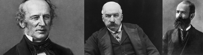 ZHeleznodorozhnye magnaty Vanderbilt Morgan Guld - Железные дороги США: история и описание