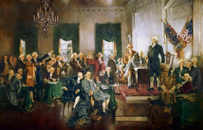 Konstitutsiya SSHA - Конституция США