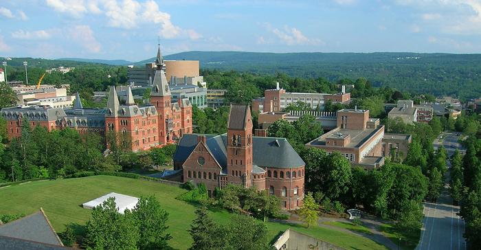 Kornellskij universitet - Корнеллский университет, штат Нью-Йорк