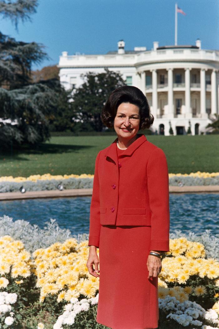 Ledi Berd - Линдон Бэйнс Джонсон – 36-й президент США