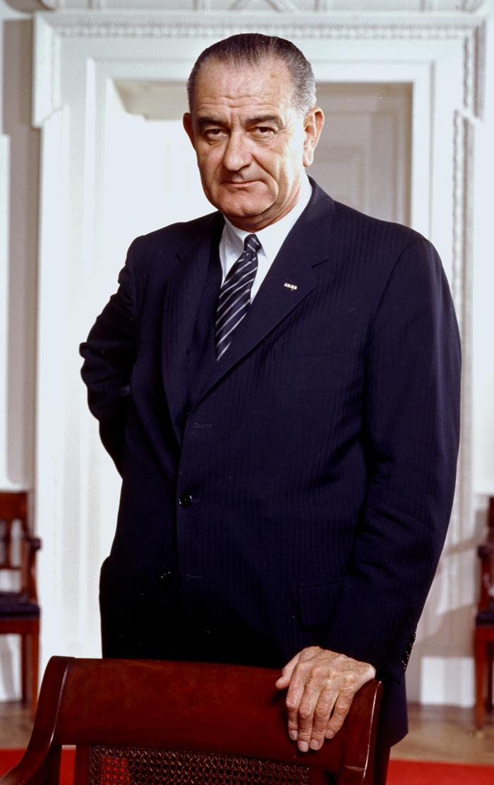 Lindon Bejns Dzhonson - Линдон Бэйнс Джонсон – 36-й президент США