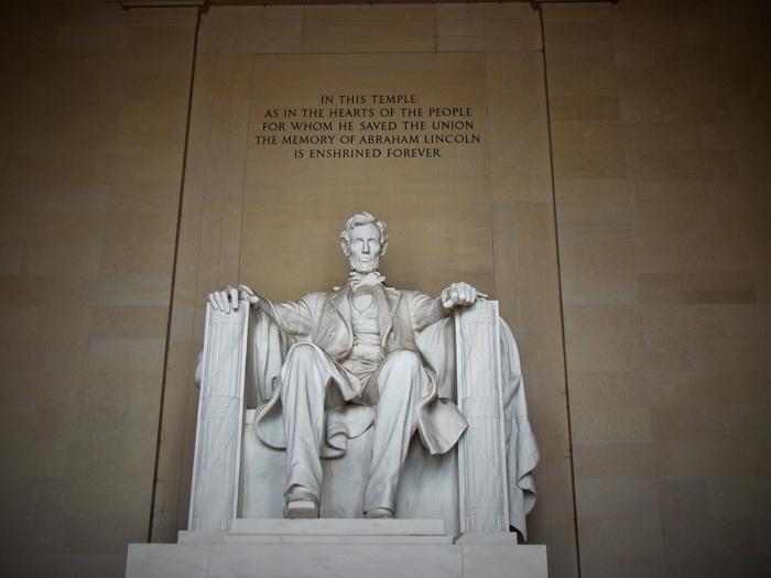 Memorial Linkolna - Авраам Линкольн – шестнадцатый президент США