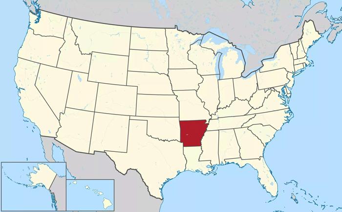 Штат Арканзас
