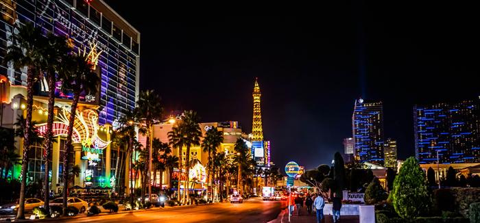Gorod Las Vegas shtat Nevada SSHA - Город Лас-Вегас, штат Невада, США