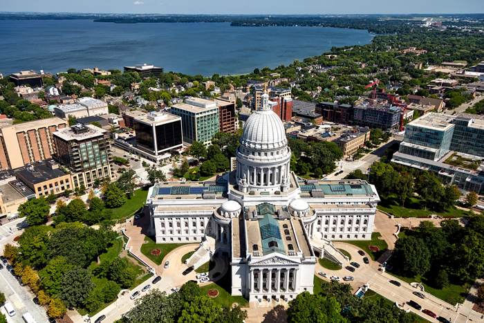 Kapitolij - Мэдисон - cтолица штата Висконсин