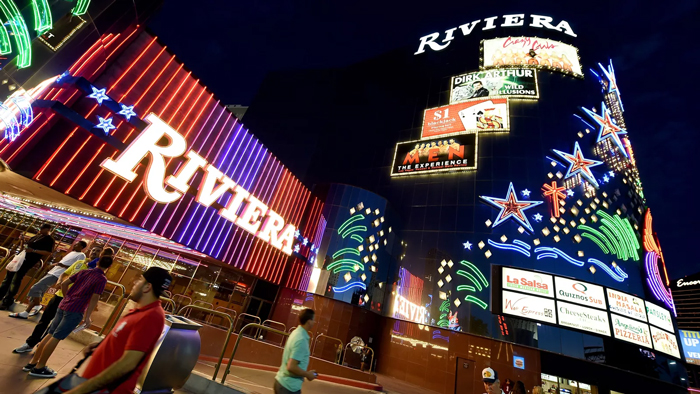 Kazino Riviera - Город Лас-Вегас, штат Невада, США