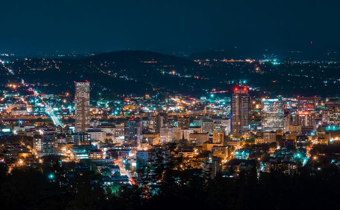 Portlend shtat Oregon - Лучшие города США