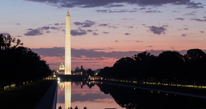 Iskusstvennyj prud - Мемориал Вашингтона в США: память о первом президенте Америки