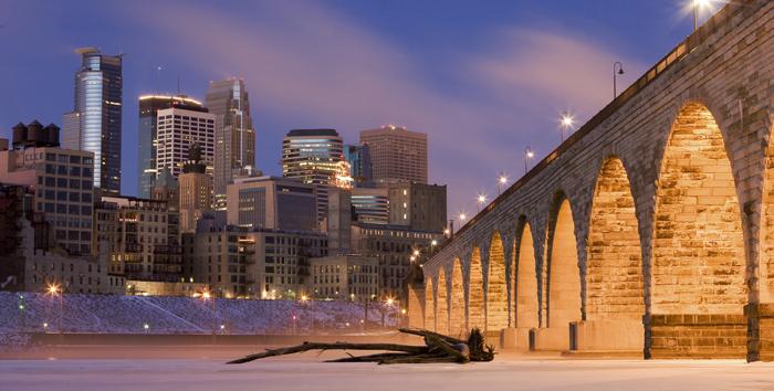 Klimaticheskie usloviya Minneapolisa - Миннеаполис - крупнейший город штата Миннесота, США