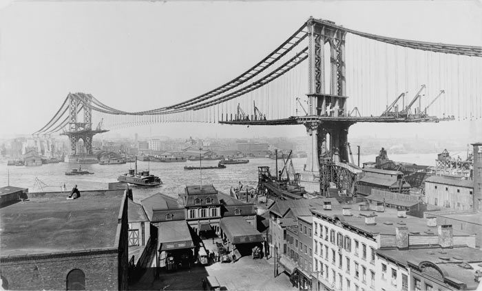 Manhettenskij most - Мосты Нью-Йорка – неотъемлемая часть архитектуры города