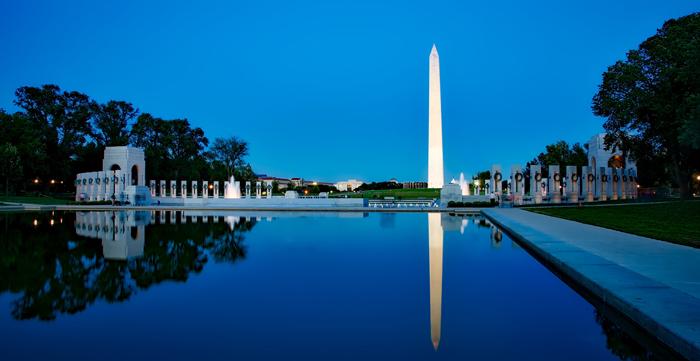 Memorial Vashingtona - Мемориал Вашингтона в США: память о первом президенте Америки
