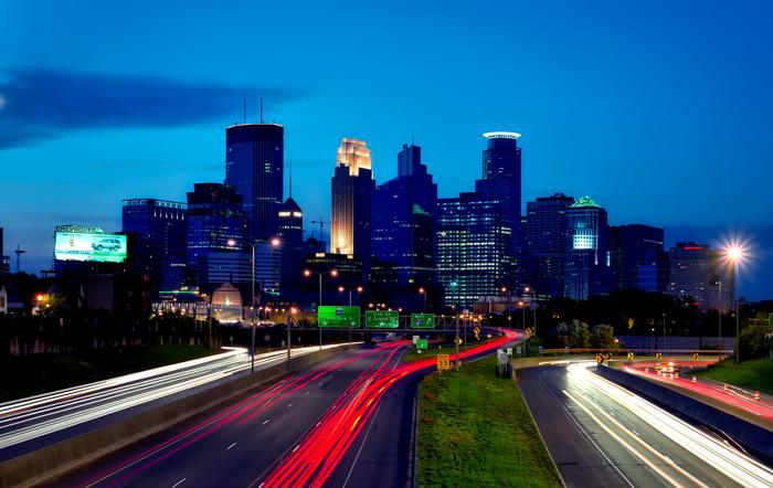 Minneapolis krupnejshij gorod shtata Minnesota - Миннеаполис - крупнейший город штата Миннесота, США