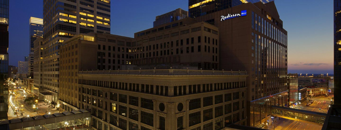 Radisson Blu Minneapolis Downtown - Миннеаполис - крупнейший город штата Миннесота, США