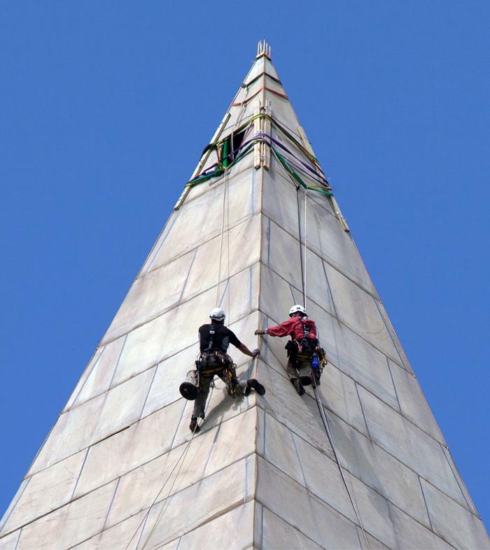 Tehnicheskie harakteristiki monumenta - Мемориал Вашингтона в США: память о первом президенте Америки