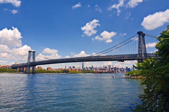Vilyamsburgskij most - Мосты Нью-Йорка – неотъемлемая часть архитектуры города