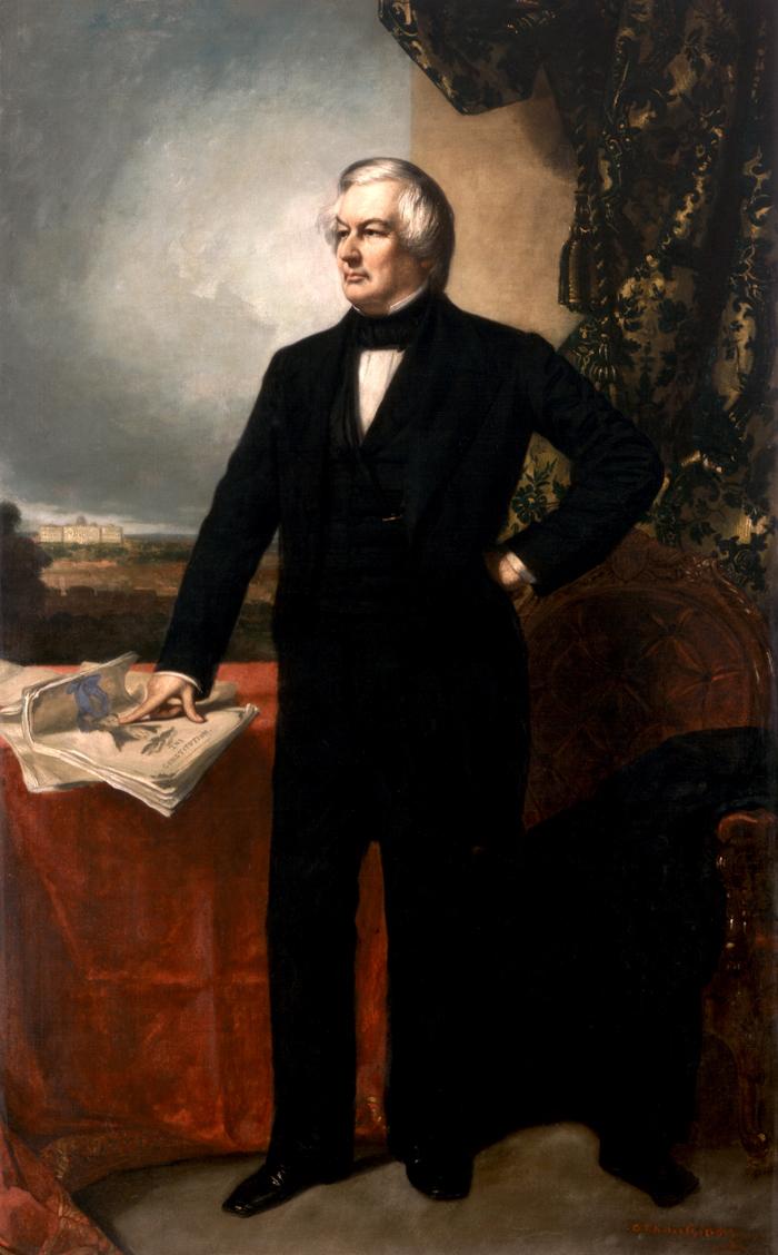 Vnutrennyaya politika M.Fillmora - Миллард Филлмор - тринадцатый президент США