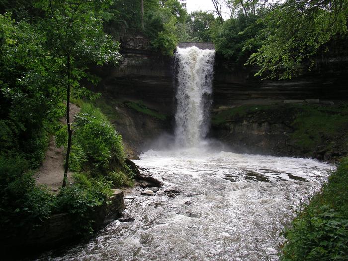 Водопад Миннехаха